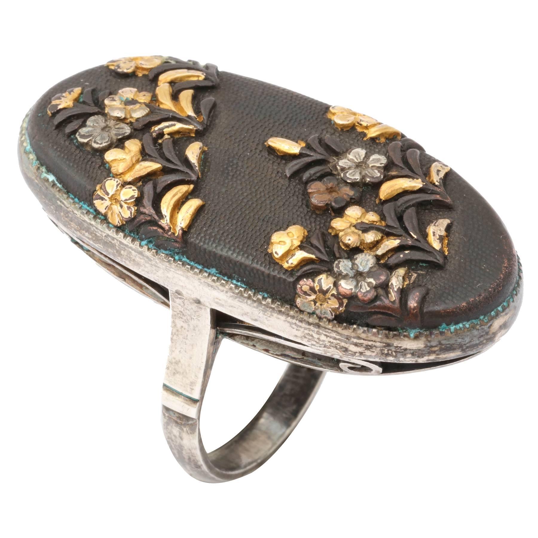 Victorian Japanese is Shakudo Ringed