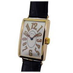 H. Moser Yellow Gold Gondolo Watch, circa 1920s