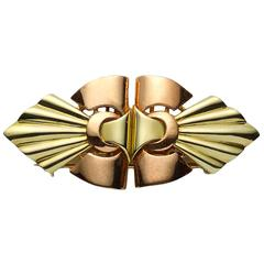 Carter & Sons Gold Double Clip