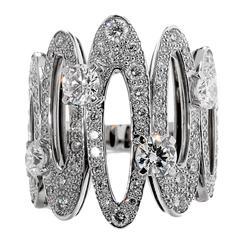 Bulgari Elisia Diamond Gold Ring