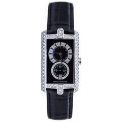 Harry Winston Avenue C White Gold Diamond Ladies Watch  331/UQWL.KD/D3