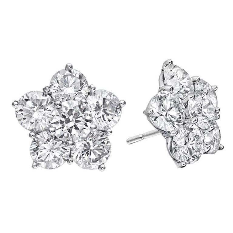 Betteridge Medium Diamond Astra Stud Earrings For
