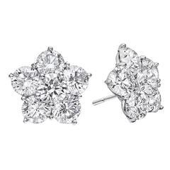 Betteridge Medium Diamond Astra Stud Earrings