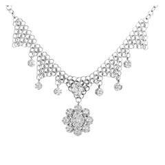 Pasquale Bruni Diamond Gold Pendant Necklace