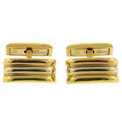 Cartier Trinity Tricolor Gold Cufflinks