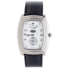 Parmigiani Fleurier White Gold Ionica 8 Days Manual WInd Wristwatch