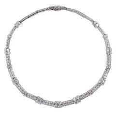 1930s Cartier Diamond Platinum Necklace
