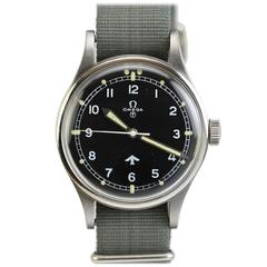 Omega Stainless Steel Military Pilot's Wristwatch Ref 2777-1SC