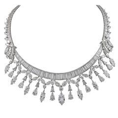 1960s Diamond Necklace