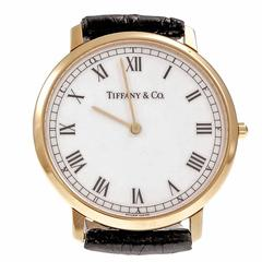 Tiffany & Co. Yellow Gold Quartz Wristwatch