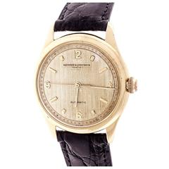 Vacheron Constantin Yellow Gold Automatic Wristwatch