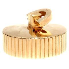 Cartier London Gold Pill Box