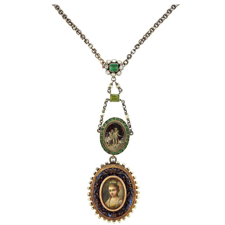 Fabulous Vintage Bohemian Gold Necklace