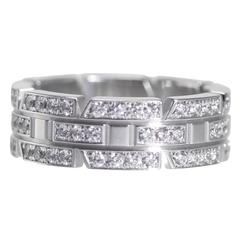 Cartier Diamond Gold Band Ring