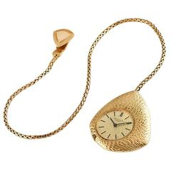Patek Philippe by Gilbert Albert Yellow Gold Asymmetrical Pocket Watch