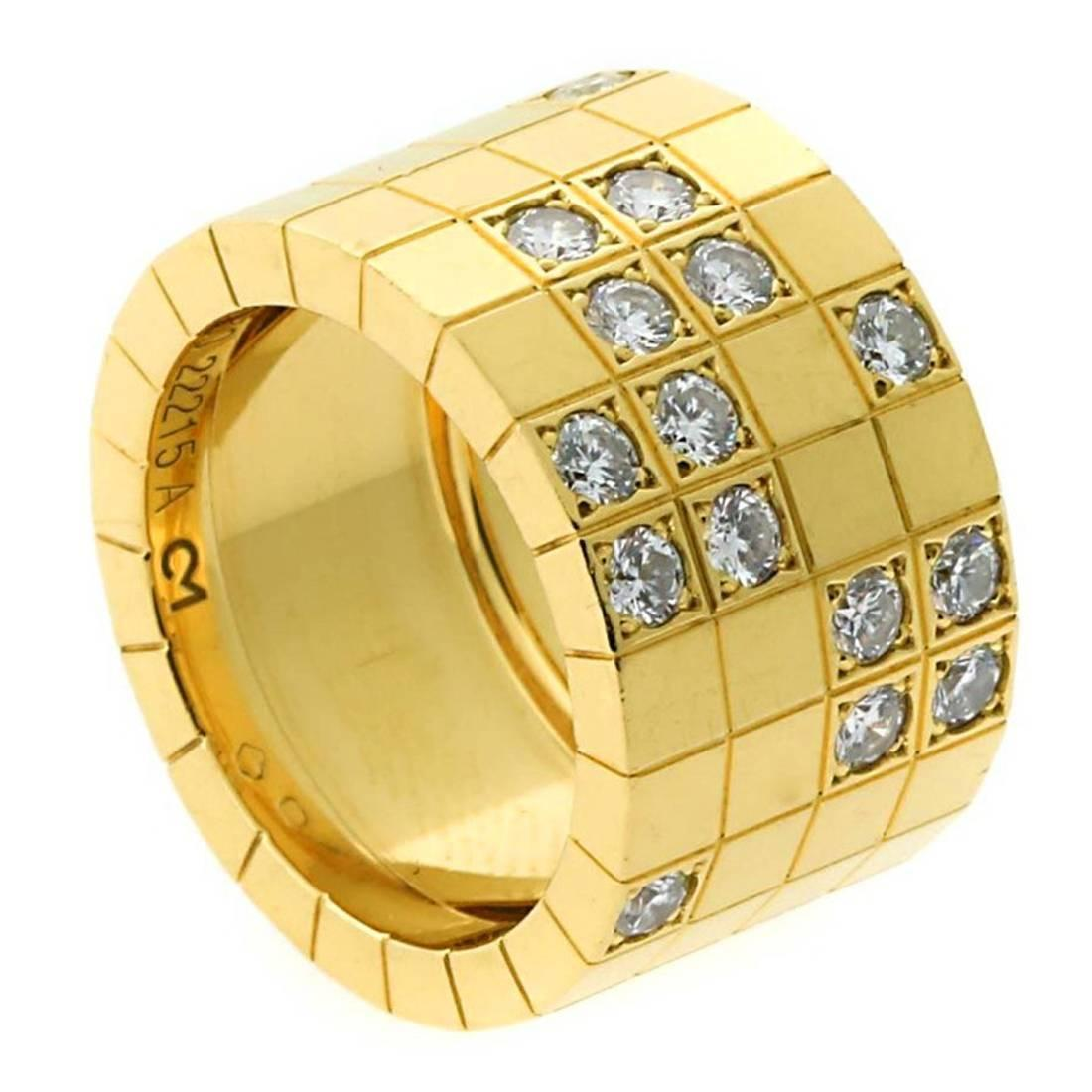 cartier lanieres gold ring for sale at 1stdibs