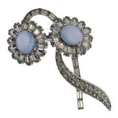 Jomaz Floral Shaped Brooch