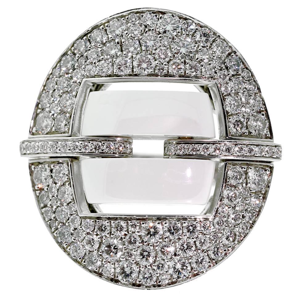 chanel ceramic gold ring at 1stdibs