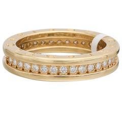 Bulgari B.Zero1 Diamond Gold Band Ring