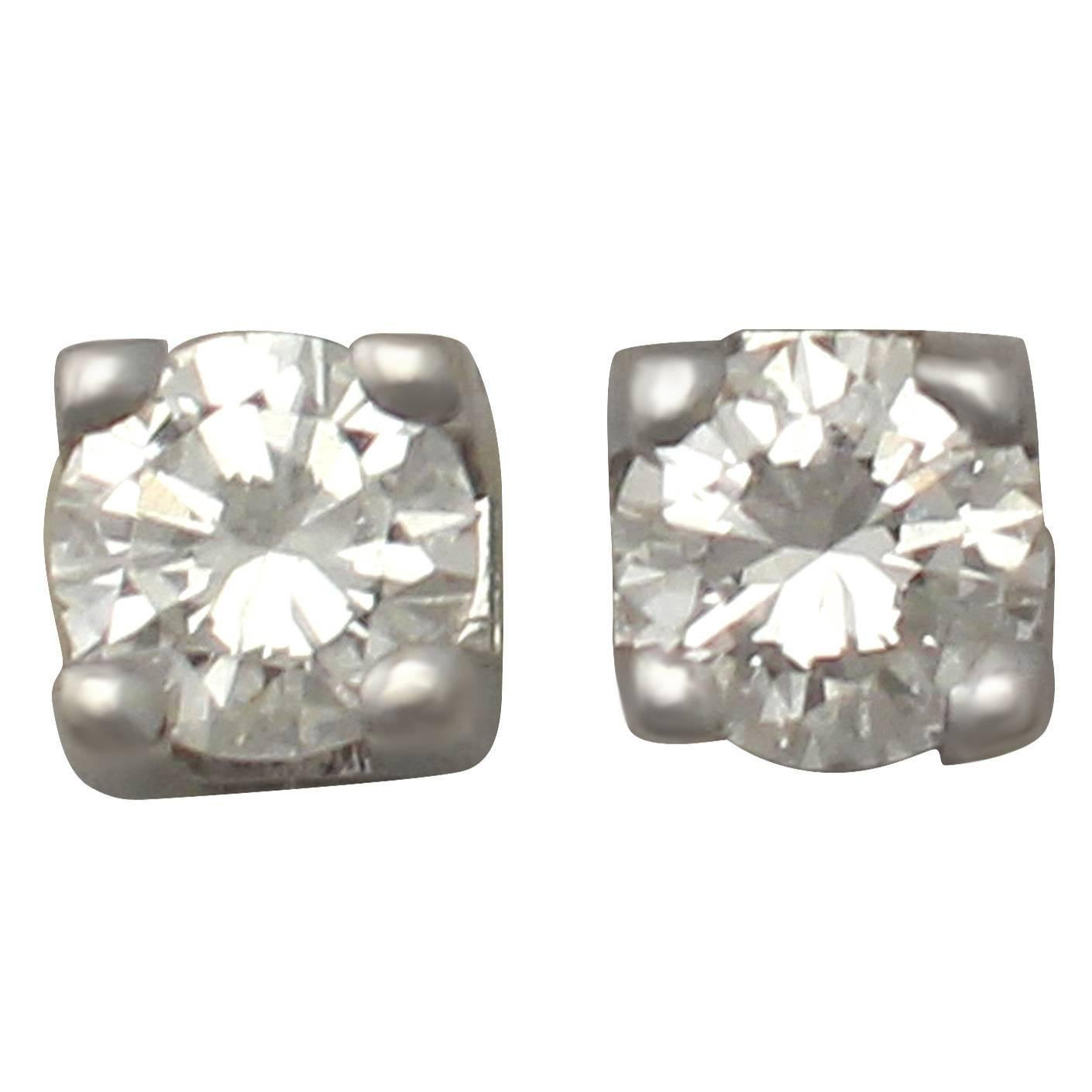 stud total details itm carat rectangular flower shape gold weight earrings about diamond