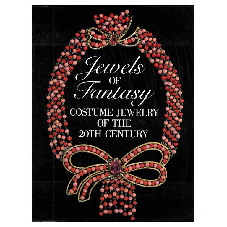 Book of Jewels of Fantasy, Costume Jewelry of the 20th Century For Sale