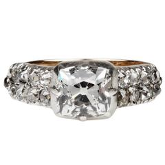 Early 19th Century Diamond Engagement Ring