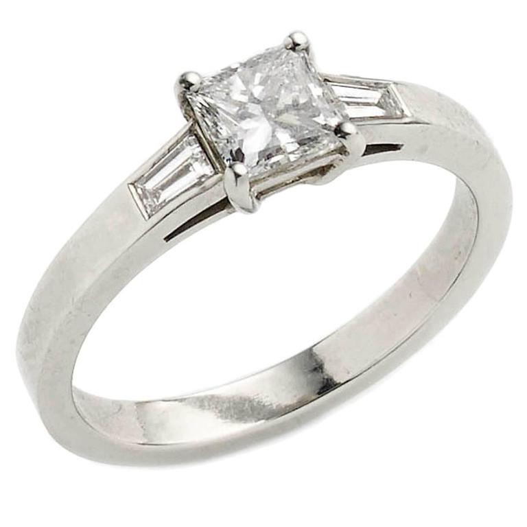 .71 Carat GIA Cert Diamond Platinum Ring