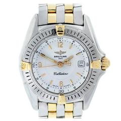 Breitling Ladies Yellow Gold Stainless Steel Callistino Quartz Wristwatch