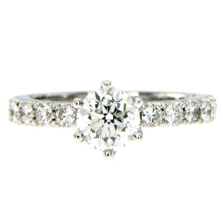 1 Carat IGI Cert Diamond Gold Engagement Ring