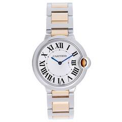 Cartier Yellow Gold Stainless Steel Quartz Wristwatch Ref W6920047
