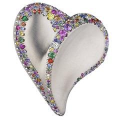 Naomi Sarna Confetti Heart Ring