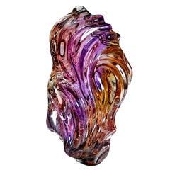 Naomi Sarna Award Winning Ametrine Carving