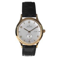 Zenith Yellow Gold Chronometre Collection 125eme Wristwatch