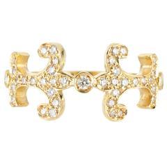 Sabine Getty Prospero Oona Diamond Gold Ring