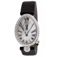 Breguet Ladies White Gold Diamond Queen of Naples Automatic Wristwatch