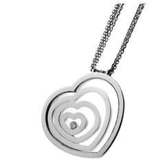 Chopard Happy Diamond Four Heart Gold Necklace