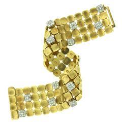 Marianne Ostier Diamond Gold Bracelet