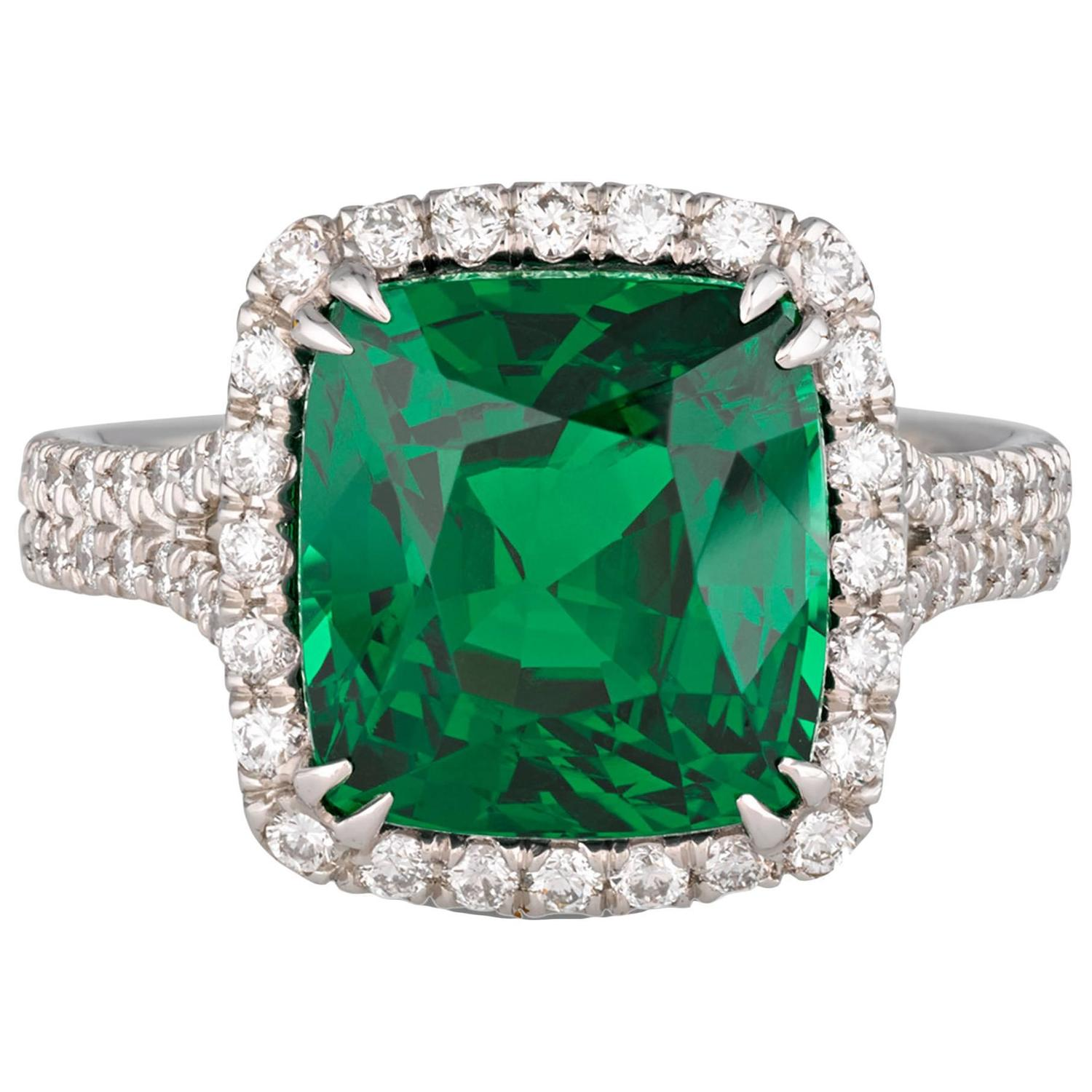 tsavorite stack diamond multi london ring product gem yellow soho fine gold garnet white road eternity and rings