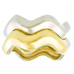 Pomellato Gold Wave Rings