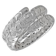 "Marina B. ""Onda"" Diamond Gold Bracelet"
