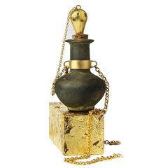 Roman Empire Bronze Perfume Bottle
