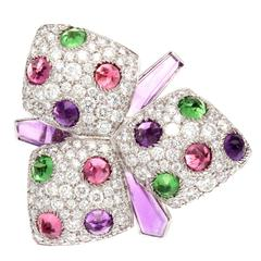 Cartier Orchid Amethyst Garnet Rubelite Diamond Gold Ring