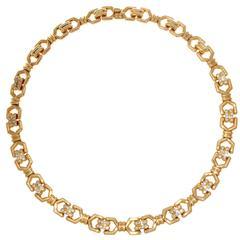Mauboussin Diamond Gold Necklace