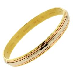 Cartier Gold Bangle Bracelet