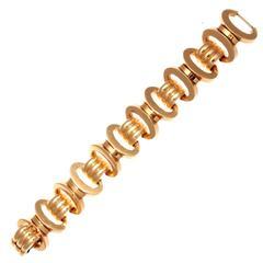 Heavy French Gold Bracelet