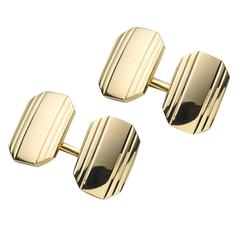 Tiffany Gold Cufflinks