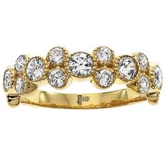 Diamond Gold Wedding Band Ring