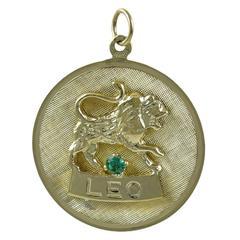 Leo Gold Charm