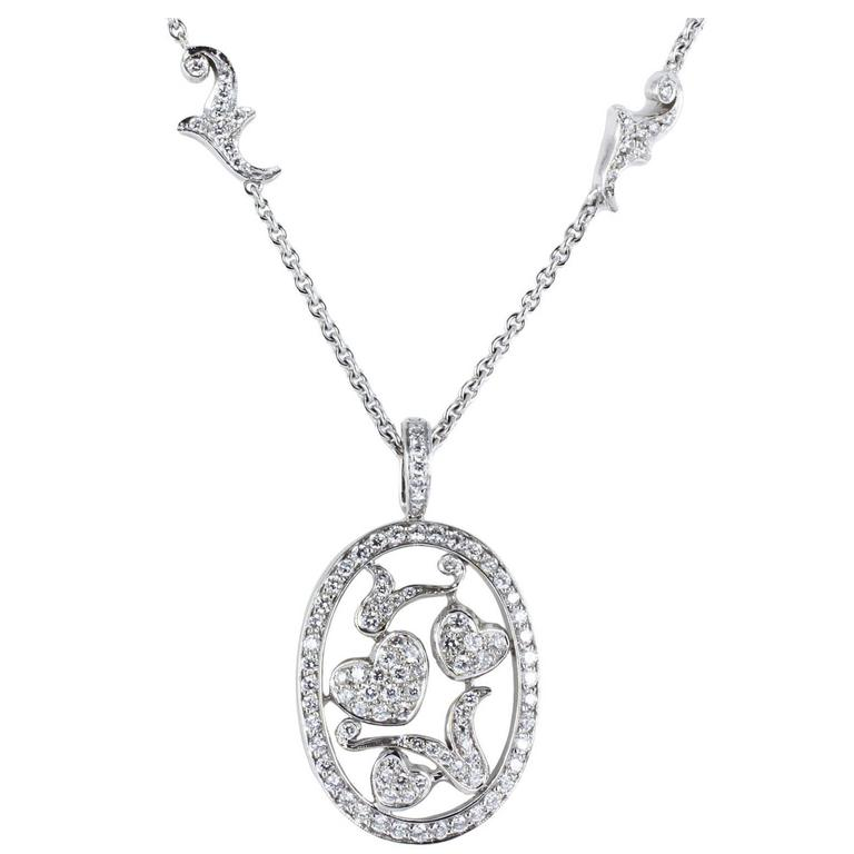 Pave Diamond Gold Pendant