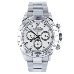 Rolex Stainless Steel Daytona Cosmograph Self-winding Wristwatch Ref 116520